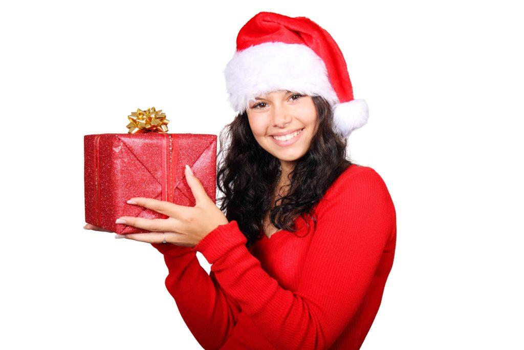 christmasgiftheldbywoman